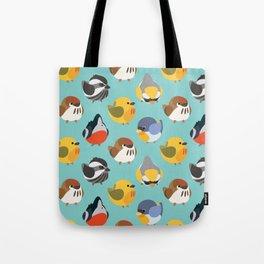 Warblers Pattern Tote Bag