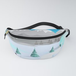 Christmas #Winter Fanny Pack