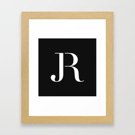JR Framed Art Print