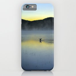 Perfect Landing (Sunrise, Lake George) iPhone Case