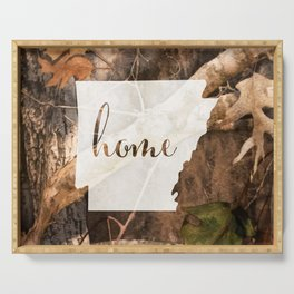 Arkansas is Home - Camo Serving Tray