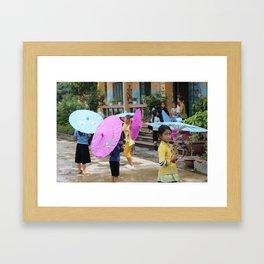 The Schoolgirl Framed Art Print