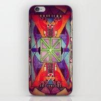 mandala iPhone & iPod Skins featuring Mandala by Aaron Carberry