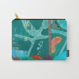 Turquoise Repeat Carry-All Pouch