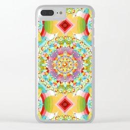 Bijoux Geometric Clear iPhone Case
