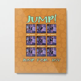 Jump for Joy Metal Print