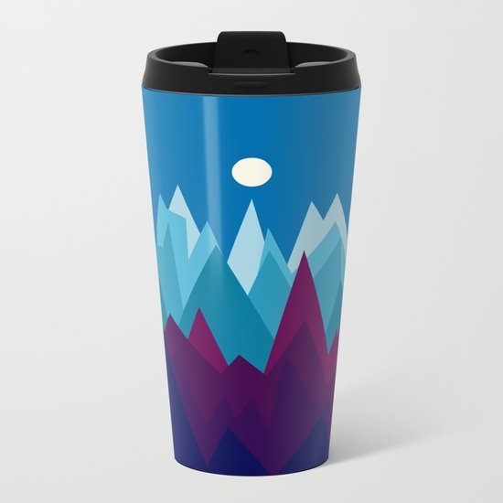 Landscape NC 13 Metal Travel Mug