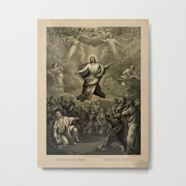 Ascension of Christ (1884) Metal Print