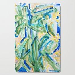 Tropical Plants Cutting Board