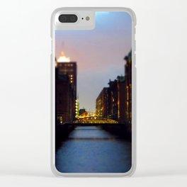 Speicherstadt Clear iPhone Case