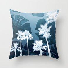 Tropicality Throw Pillow