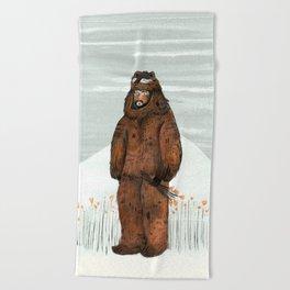 Wilder Mann - The Bear Beach Towel