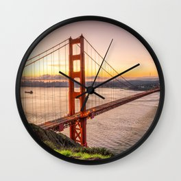 San Francisco 03 - USA Wall Clock