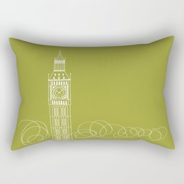 London by Friztin Rectangular Pillow