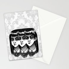 Triplets Stationery Cards