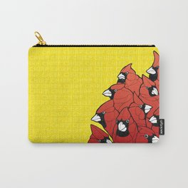 Cardinal Chirp Digital Art Carry-All Pouch