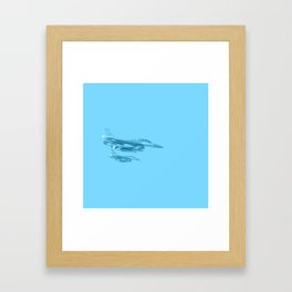 jet military Framed Art Print