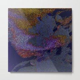 abstract sand Metal Print
