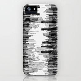 Polyline Distortion iPhone Case