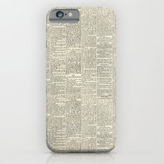 Newsie iPhone 6s Slim Case