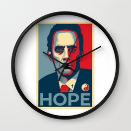 Jordan Peterson Hope Wall Clock