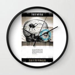Mindkiller Wall Clock
