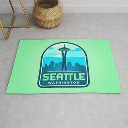 Seattle Badge Rug