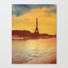 Paris from a Distance  Canvas Print