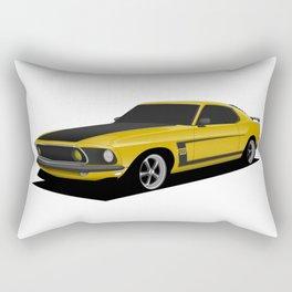 Mustang Boss Rectangular Pillow