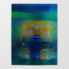 Abstract Composition 200 Poster