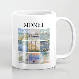 Monet - Collage Coffee Mug