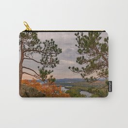 Eagle cliff pines Carry-All Pouch