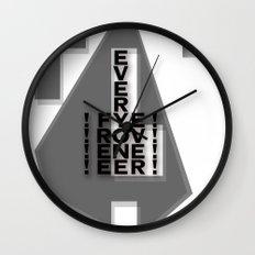 FREE EVERYONE EVER Wall Clock