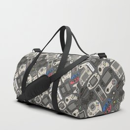 Video Game Controllers in True Colors Duffle Bag
