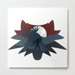 The beast hunt (v2) Metal Print