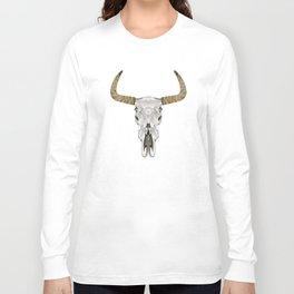 Steer skull Long Sleeve T-shirt