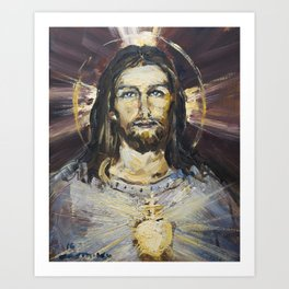 Ecstasy X. The Transfiguration Art Print