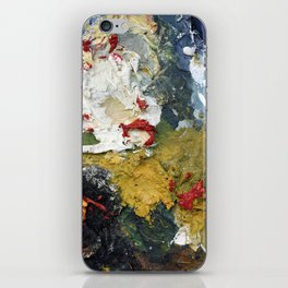 Oil Paint Texture iPhone Skin