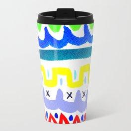 Folk pattern Travel Mug