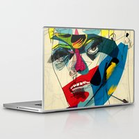 kandinsky Laptop & iPad Skins featuring 041112 by Alvaro Tapia Hidalgo