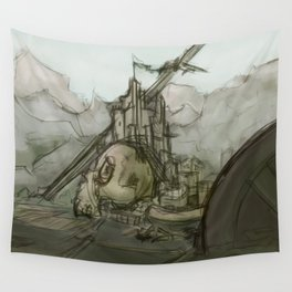 Giant's Crown Wall Tapestry
