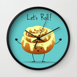 Let's Roll! Wall Clock