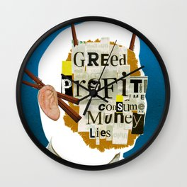 Mankind Motivation 15 Wall Clock