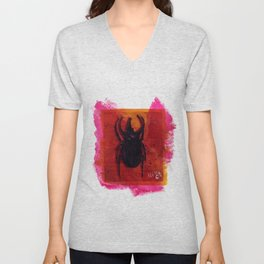 Deer fly Unisex V-Neck