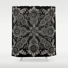 Victorian Monochrome Shower Curtain