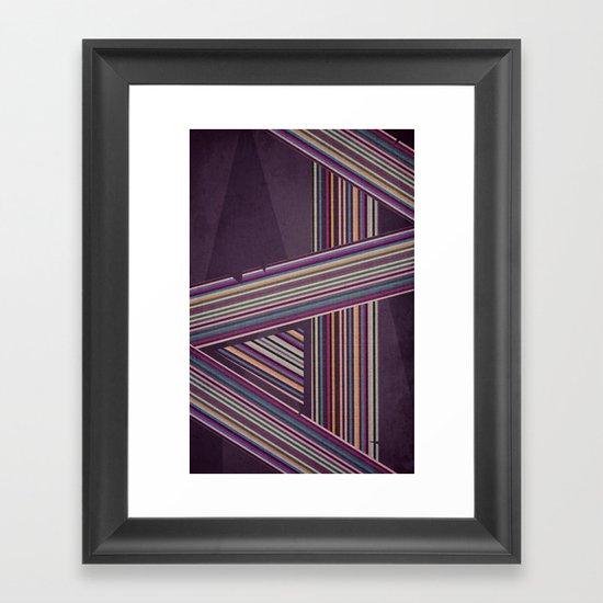 In Rainbows Framed Art Print