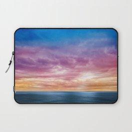 Rainbow Clouds Laptop Sleeve