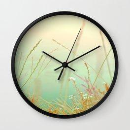softly silance nature Wall Clock