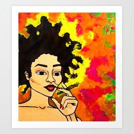 Amaya Art Print