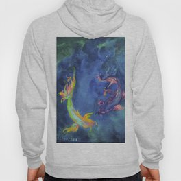 Koi fishes. Japanese fishes Hoody